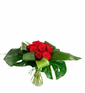 21st Century Roses Vase  in Nevada, IA   Flower Bed