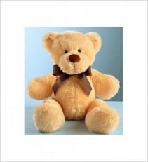 """22"""" Light Brown Bear Gift"""