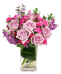 Lavender Luxury Flower Arrangement
