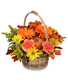 Enjoy Fall! Flower Basket