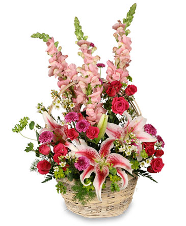 BECAUSE YOU'RE SPECIAL Flower Basket