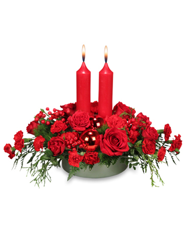 RICHLY CHRISTMAS Holiday Arrangement in Blaine, WA | BLAINE BOUQUETS