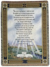 "23rd Psalm 50"" x 60"" Throw"