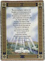 23rd Psalm Throw