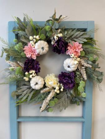 "24"" Artificial Fall Wreath"