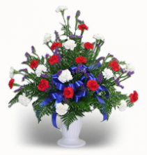 24 Carnation Urn