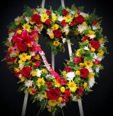 "24""  Heart  Funeral"