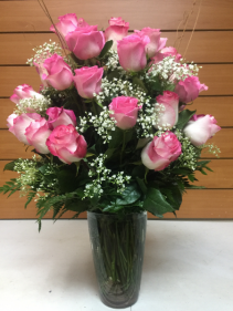 24 Pink Roses Custom Product