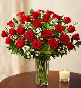 24 Premium Long Stem Roses Special! in Winter Park, FL | ROSEMARY'S FLORAL & EVENTS
