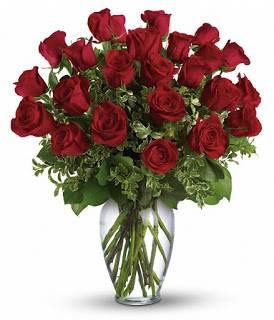 24 Premium Red Roses Bouquet