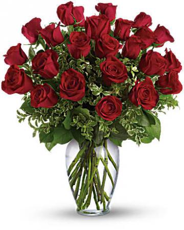 Multi-Dozen Radiant Red Roses