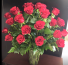 24 Red Rose Floral Arrangement