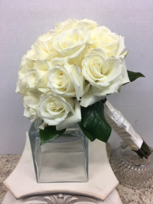 24 Rose Bridal Bouquet Wedding flowers in Tulsa, OK   Absolutely Flowers & Tulsa Gift Baskets