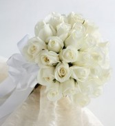 24 Rose brides Bouquet red,yellow,pink.white,