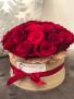 24 Rose Flower Box Arrangement Roses