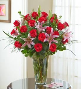 24 Rose Premium Vase  in Clearwater, FL | FLOWERAMA