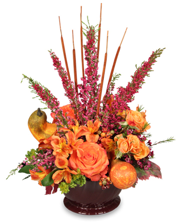 HOMECOMING HARVEST Arrangement in Cincinnati, OH | Reading Floral Boutique
