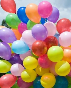 25 Latex Balloons - Loose  in Coral Springs, FL | DARBY'S FLORIST
