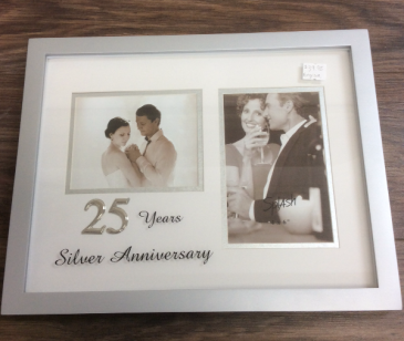 Anniversary Frame 25th or 50th Personalized engraved item