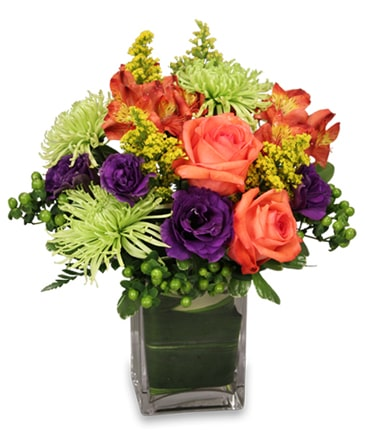 Jewels of Summer Flower Bouquet in Santa Barbara, CA | Lily's Flowers And Fruity Florets