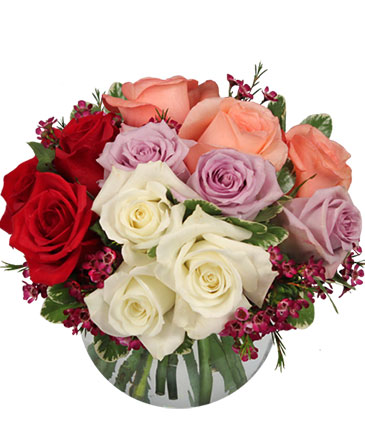 Rendezvous Roses Arrangement