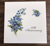 25th Hot Plate 25th Anniversary Giftware