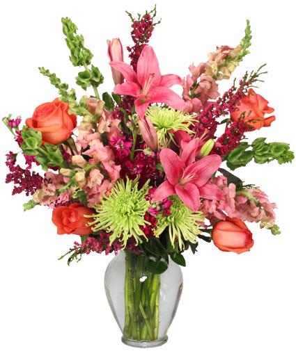 FOLLOW MY HEART Flower Arrangement In Odessa, TX