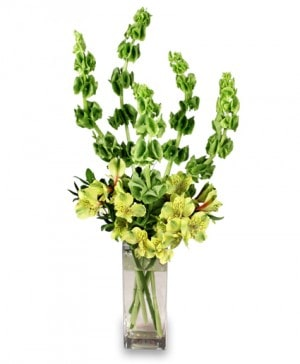 VERY VERDE Bouquet in Mount Pleasant, TX | DESIGNS BY LISA