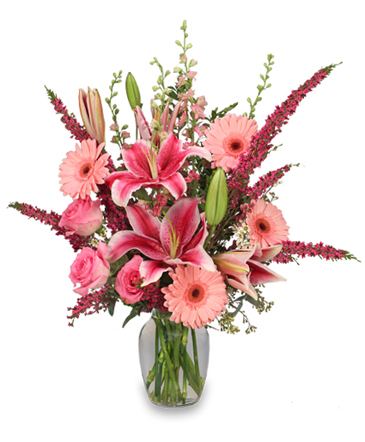 LADIES CHOICE Arrangement in Clearfield, UT | 4 SISTERS FLORAL & HOME DECOR