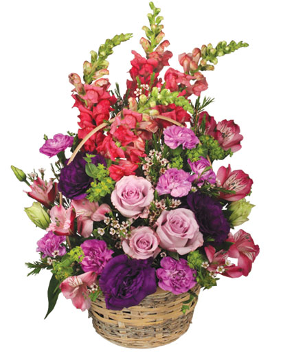 Home Sweet Flower Basket