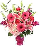 Longing Caress Floral Design in Mitchell, Indiana | Blooming Pails, LLC