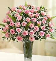 3 DOZ PINK ROSES