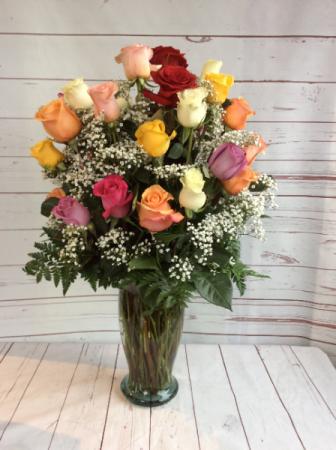 3 Dozen Assorted Roses