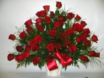 Roses-4 Dozen Kisses Roses