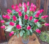 3 Dozen Roses Vased