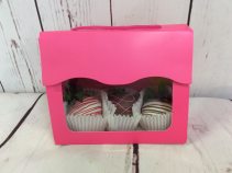 3 Pack Chocolate Covered Strawberries  Available 02/10-02/14
