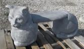 3 piece Cat Bench~$150.00 Concrete
