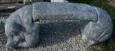 3 piece Hog Bench~$175.00 Concrete