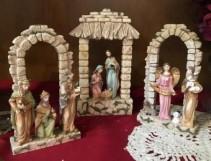 3 piece LED Nativity Set