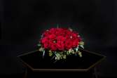 Lovely Luxe Pave Red Roses or Any Color Roses