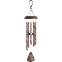 "30"" Rose Gold Sonnet Windchime"