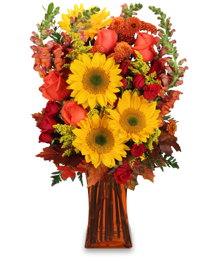 All hail to fall flower arrangement in bonita springs fl a flower arrangement mightylinksfo