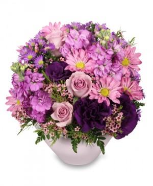 LAVENDER GARDEN Flower Arrangement in Port Stanley, ON | FLOWERS BY ROSITA