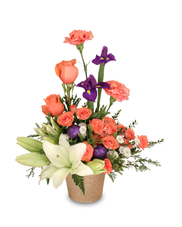 CELEBRATE A NEW YEAR Arrangement in Worthington, OH | UP-TOWNE FLOWERS & GIFT SHOPPE