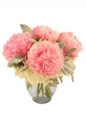 Sweet As Pie Pink Peonies in Addison, TX | MILLE FLEURS