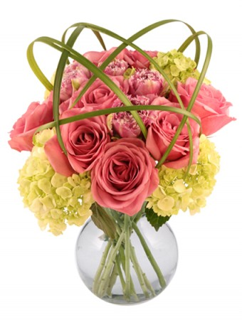 High Drama Roses Arrangement