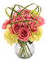High Drama Roses Arrangement