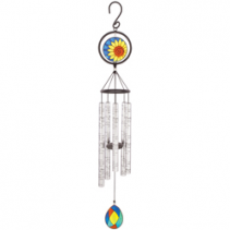 """35"""" Stained Glass Sonnet Windchime"""