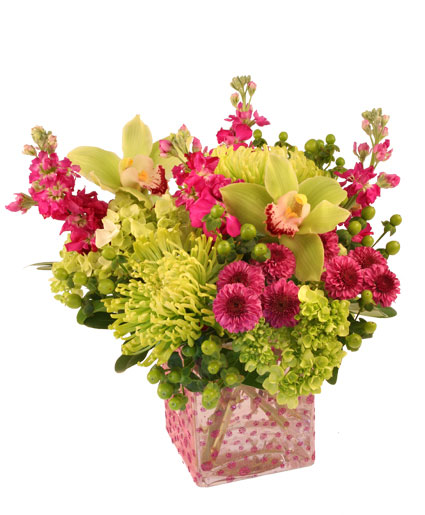 Polka Dot Posies Bouquet in Whitehouse TX Whitehouse Flowers and