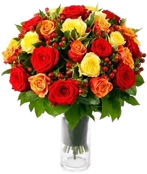 36 MAGNIFICENT ROSES ARRANGEMENT